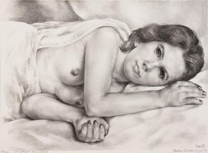 1069 aart van dobbenburgh Cosja 13e portret 1969 2