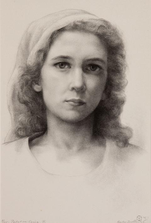 1072 aart van dobbenburgh Cosja 2e portret 1957 7