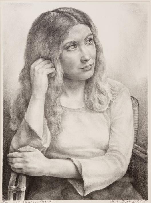 1082 Aart van Dobbenburgh 38e  portret van Marthy 1972 2