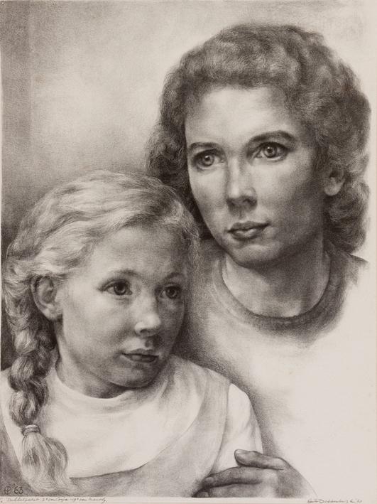 1084 aart van dobbenburgh Cosja 1963 2 7e portret samen met marthy
