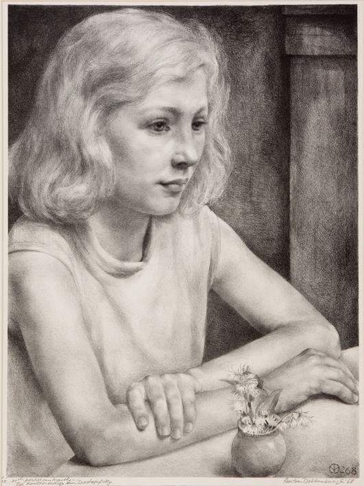 1093 Aart van Dobbenburgh | 31e portret van Marthy 1968 2  1968 3