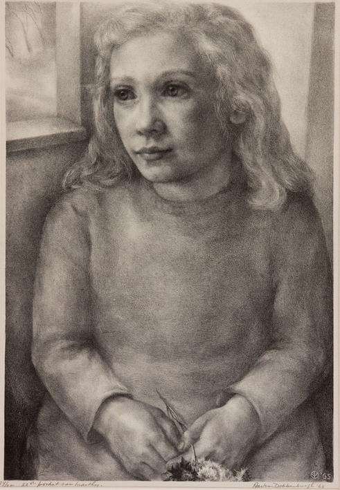 1095 Aart van Dobbenburgh | 22e portret van Marthy 1965 0
