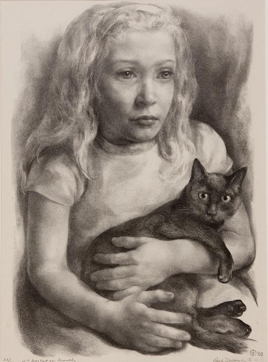 1097 Aart van Dobbenburgh | 15e portret van Marthy 1962 3