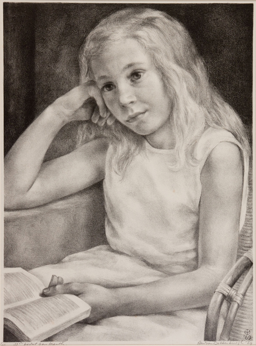 1100 Aart van Dobbenburgh 33e portret vanMarthy 1969 0