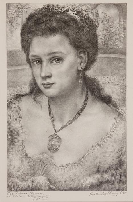 1105 Aart van Dobbenburgh | Prinses Helena uit Oorlog en Vrede 1948 2