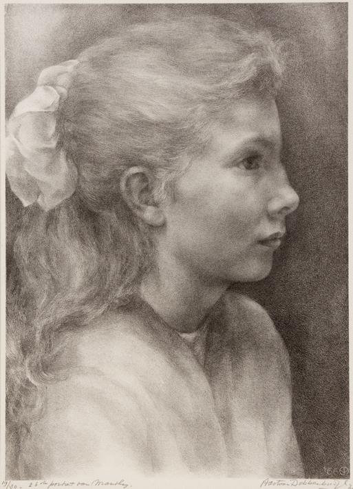 1108 Aart van Dobbenburgh | 26e portret van Marthy 1966 2