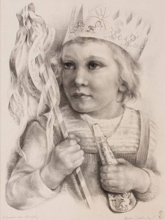 1112 Aart van Dobbenburgh | 9e portret van Marthy 1960 0