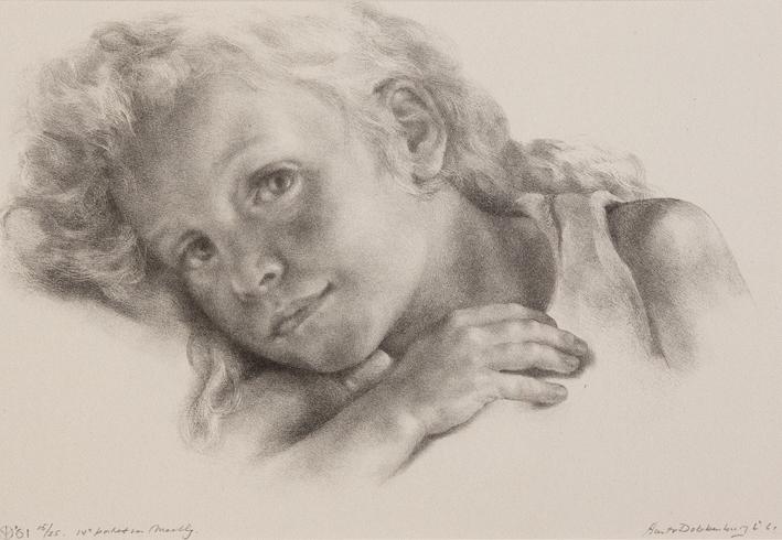 1114 Aart van Dobbenburgh | 14e portret van Marthy 1961 0