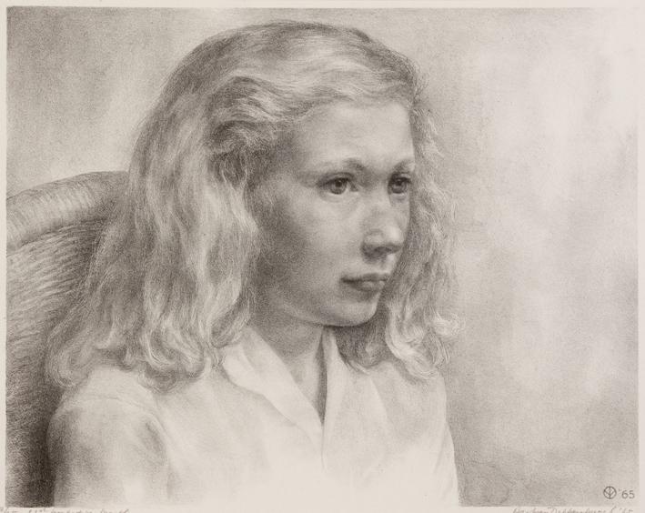 1115 Aart van Dobbenburgh | 23e portret van Marthy 1965 1