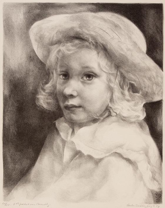 1132 Aart van Dobbenburgh | 8e portret van Marthy 1959 4