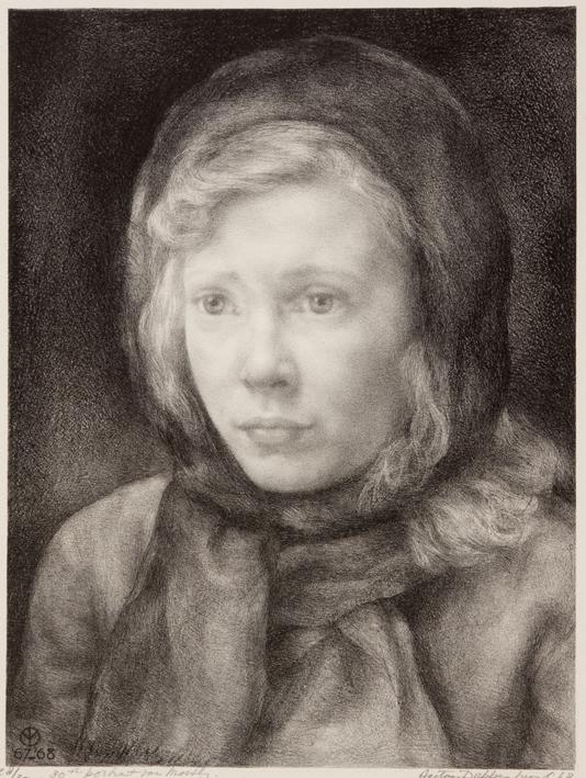 1134 Aart van Dobbenburgh | 30e portret van Marthy 1968 1