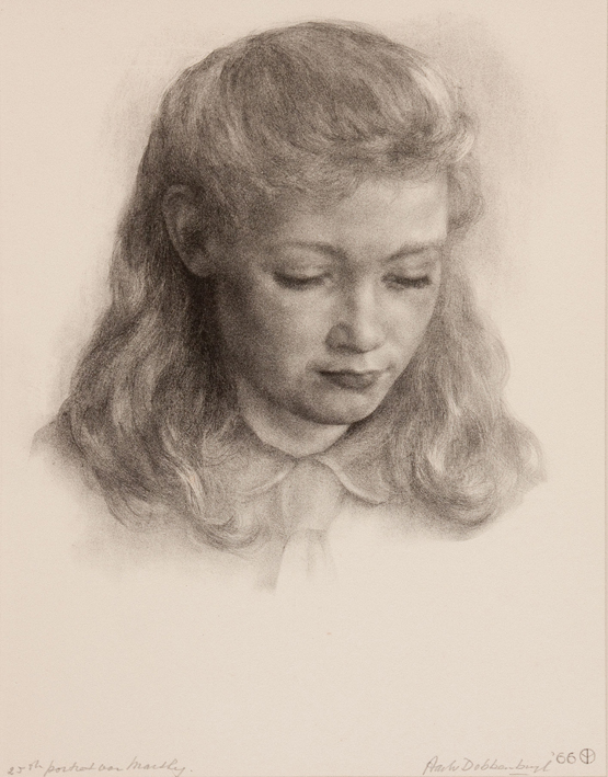 1138 Aart van Dobbenburgh | 25e portret van Marthy 1966 0 1966 1