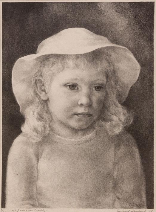1139 Aart van Dobbenburgh | 4e portret van Marthy 1958 3