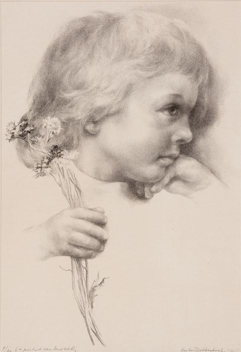 1140 Aart van Dobbenburgh | 6e portret van Marthy 1959 2