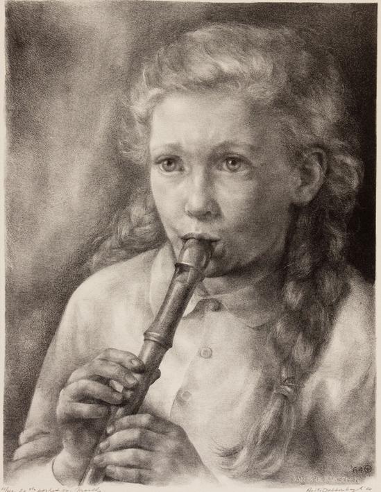 1141 Aart van Dobbenburgh | 20e portret van Marthy 1964 0