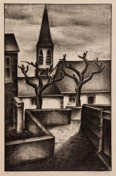 1154 Aart van Dobbenburgh | Straatje 1927 4