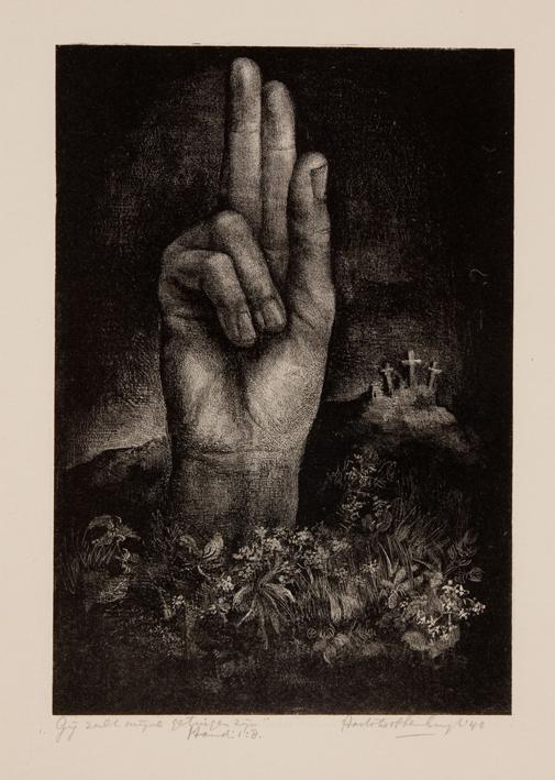 1163 Aart van Dobbenburgh | Langenius de gemartelde 1934 3
