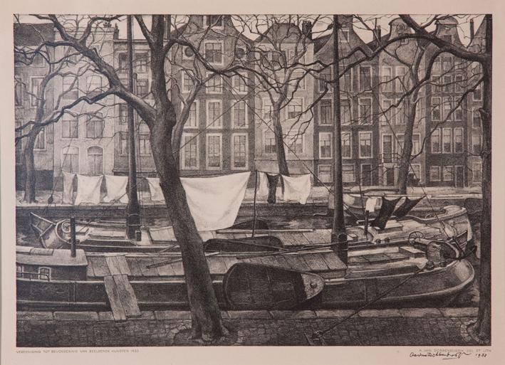 1273 Aart van Dobbenburgh | Aamsterdam slotgracht 1933 1