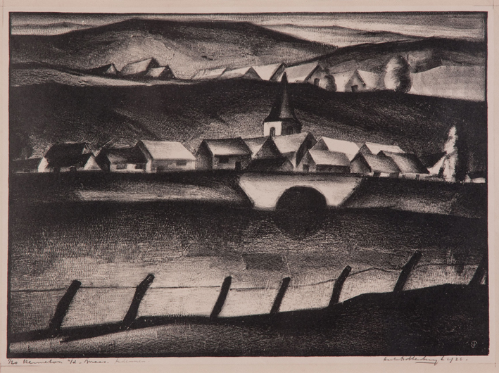 1285 Aart van Dobbenburgh | De Maas 1926 2