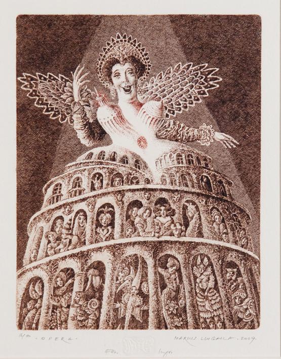 marius liugaila Opera